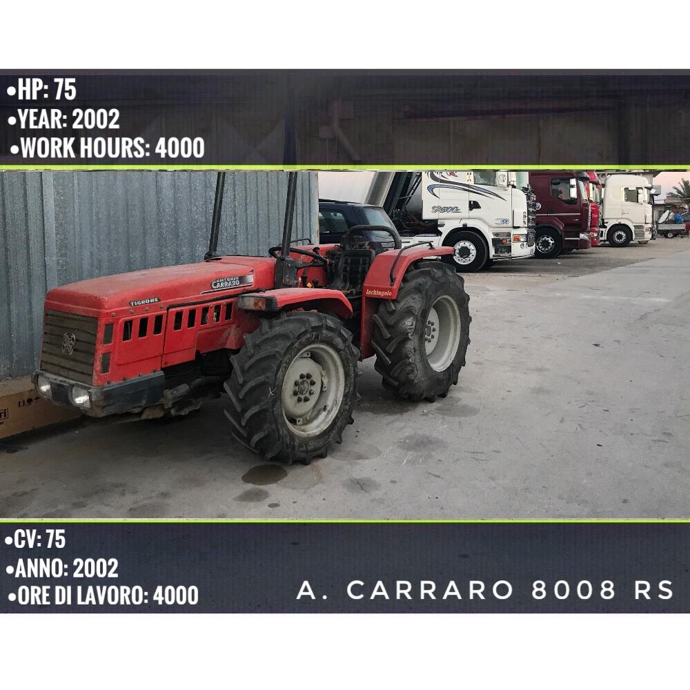 Concessionaria divincenzo tractors trattori usati puglia for Trattori usati antonio carraro 7500